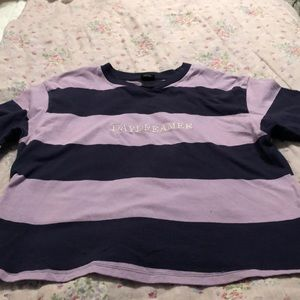 Urban outfitter large stripe tee